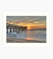 Virginia Beach Sunrise Art Print