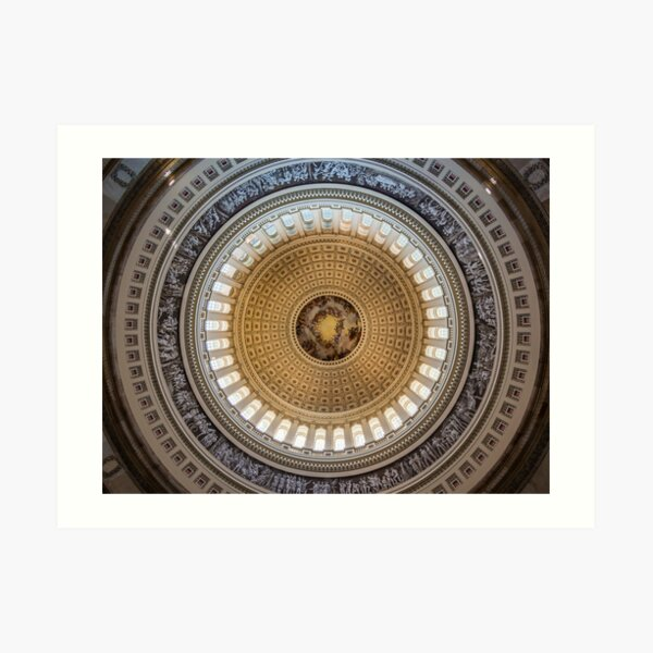 Capital Dome Art Print