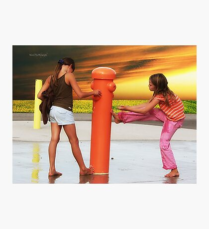Water Park Photographic Print