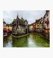 Annecy 2 Photographic Print