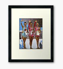 Rhythmic Gymnastics World Cup Winners Framed Print