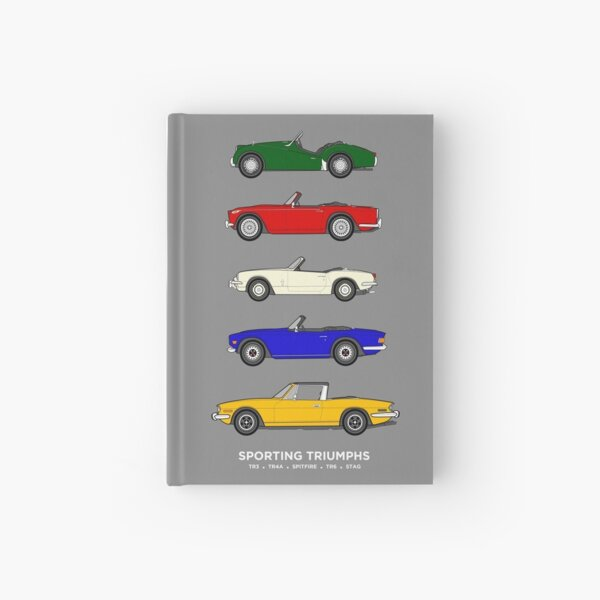 Sporting Triumphs (Triumph Sports cars) Classic Car Collection Hardcover Journal
