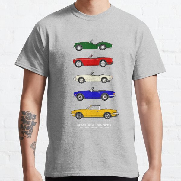 Sporting Triumphs (Triumph Sports cars) Classic Car Collection Classic T-Shirt