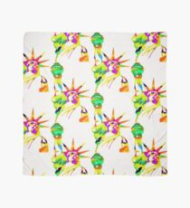 Statue Of Liberty Colorful Abstract Scarf