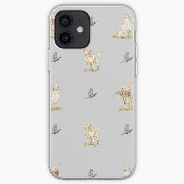 Fox Red/Yellow Labrador Retriever iPhone Soft Case
