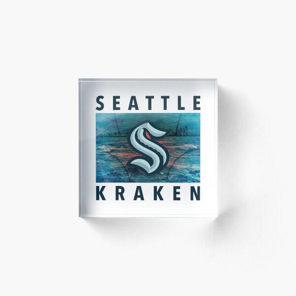 seattle kraken kraken club Acrylic Block