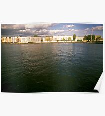 Bank of the river Spree, Berlin 2012 Poster