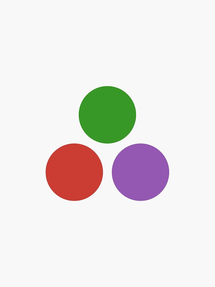 Julia Logo 3 dots by JuliaLanguage
