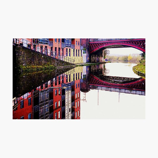 We love Manchester Photographic Print