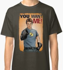 Captain Hammer - You Want Me Classic T-Shirt