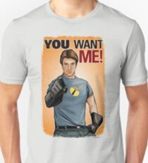 Captain Hammer - You Want Me Unisex T-Shirt