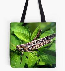 AMERICAN BIRD GRASSHOPPER Tote Bag