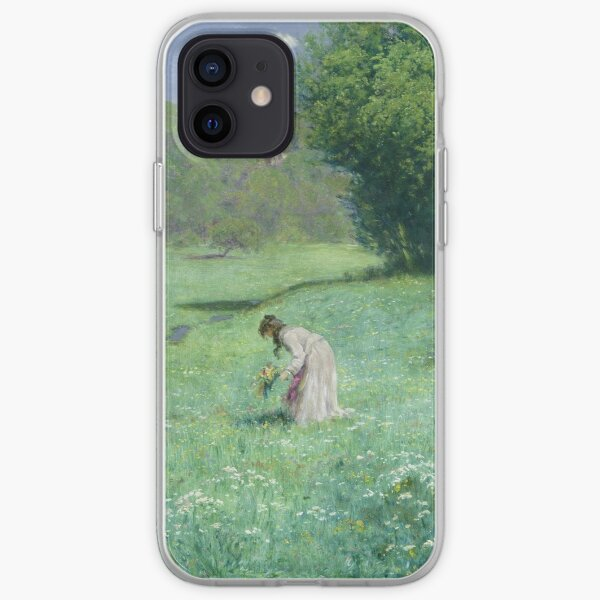 Hans Thoma - Woodland Meadow iPhone Soft Case
