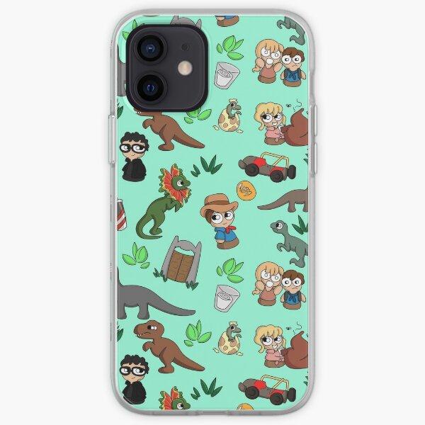 Jurassic Bits iPhone Soft Case