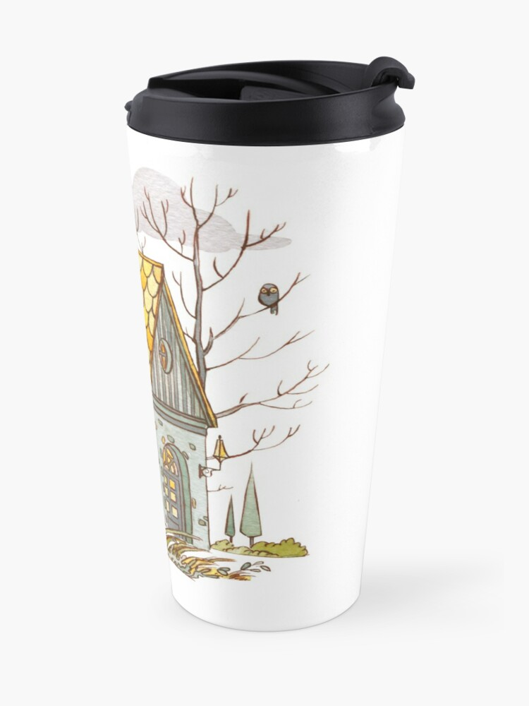 Alternate view of Forest House Travel Mug