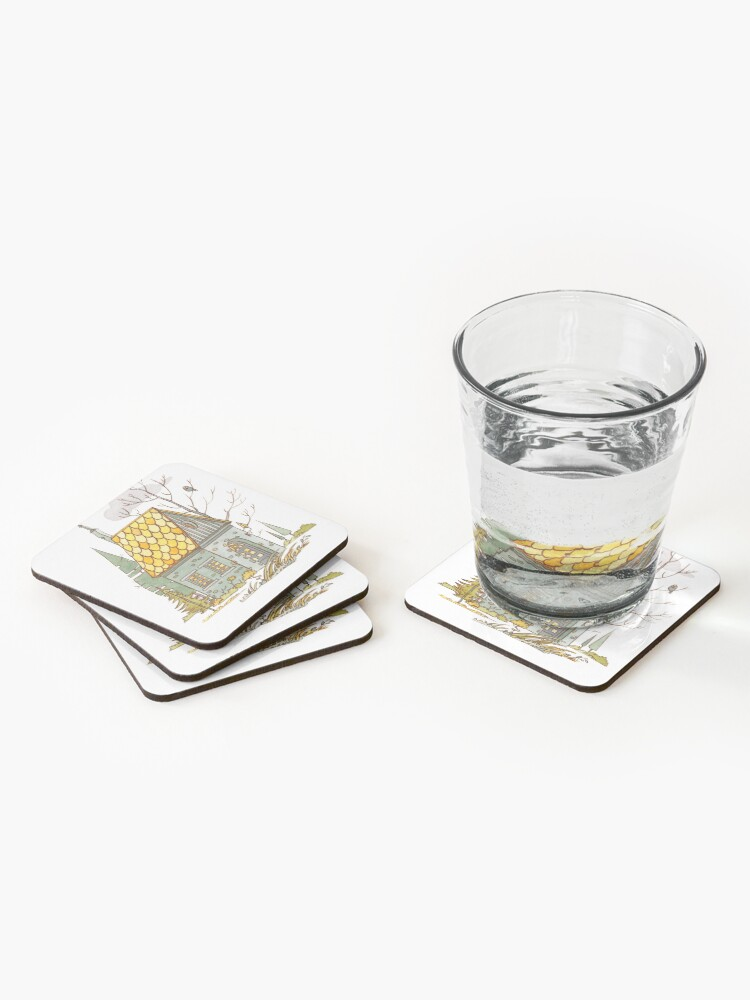 Alternate view of Forest House Coasters (Set of 4)