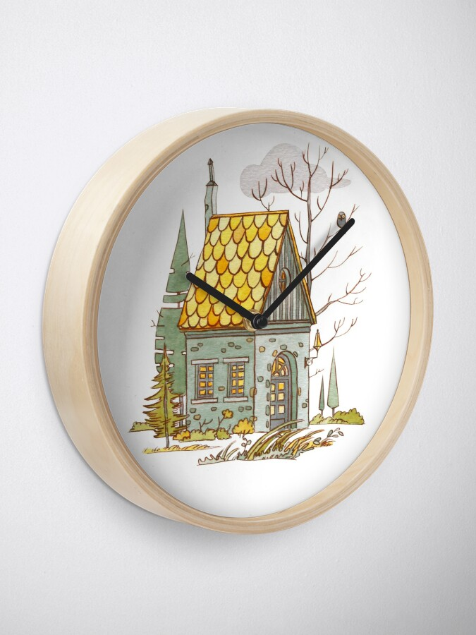 Alternate view of Forest House Clock