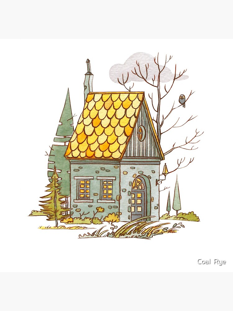 Forest House by juliacoalrye