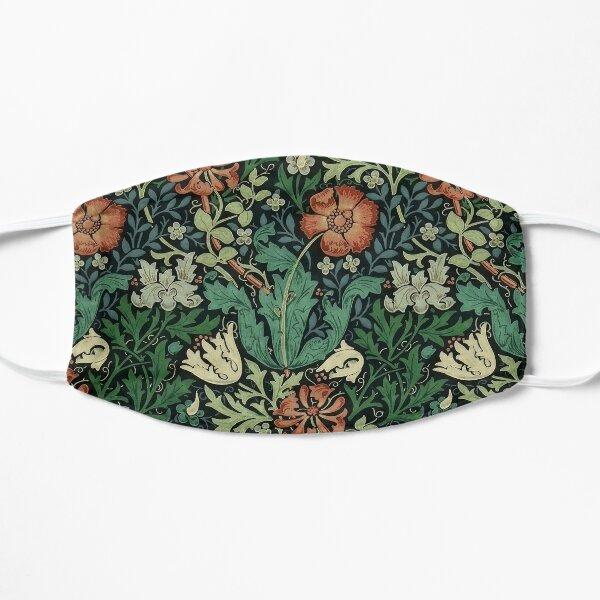 William Morris Compton Floral Art Nouveau Pattern Flat Mask