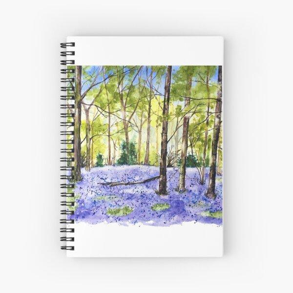 Bluebell Woods Spiral Notebook