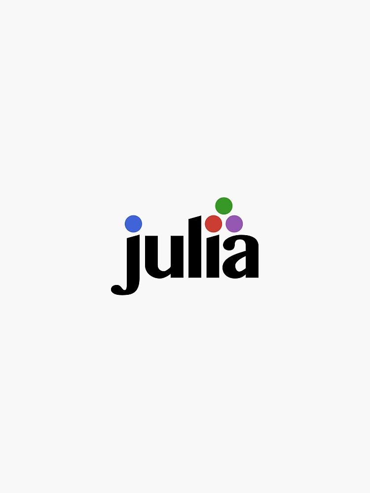 Official Julia Language logo by JuliaLanguage
