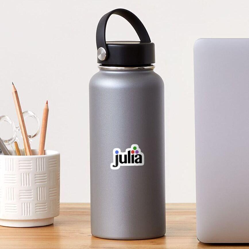 Official Julia Language logo Sticker