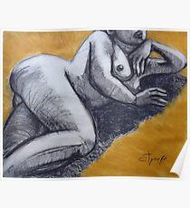 Sunbathing Nude 2 Poster