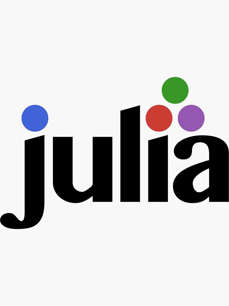 Large Julia Logo by JuliaLanguage