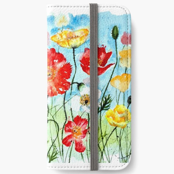 Icelandic Poppies iPhone Wallet