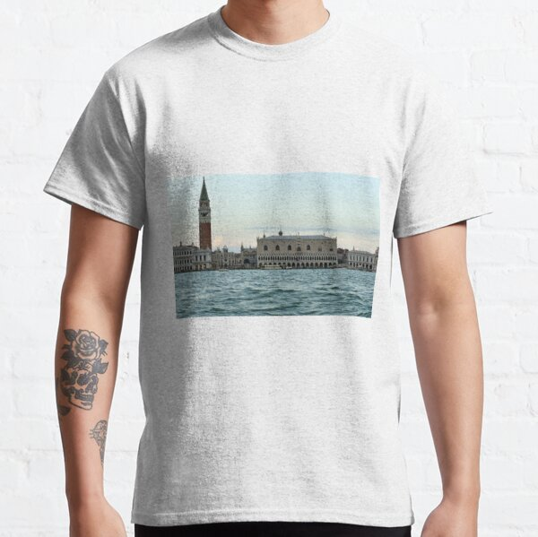 Doge's Palace - Early Evening over the Water Classic T-Shirt