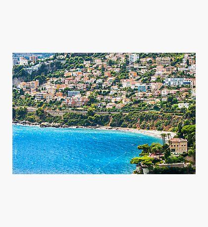 Plage du Golfe Bleu Photographic Print