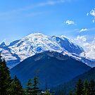 Beautiful Mount Rainier by Tori Snow