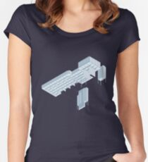 Isometric Council Chambers Women's Fitted Scoop T-Shirt