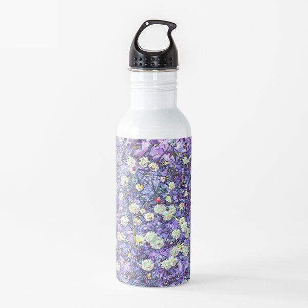Daisies in Another World Water Bottle