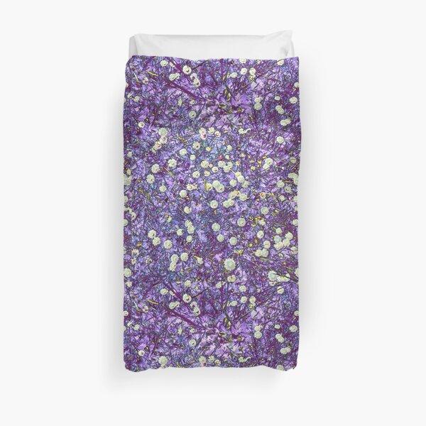 Daisies in Another World Duvet Cover