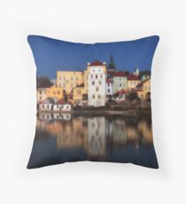Cityscape - At River Throw Pillow