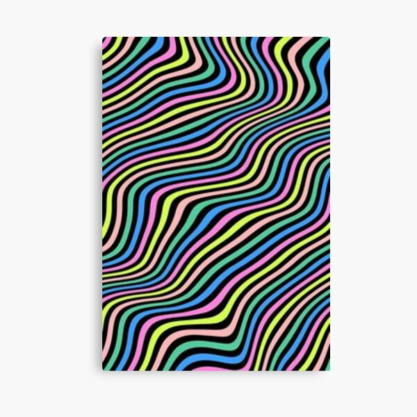 Aesthetic Waves Canvas Print
