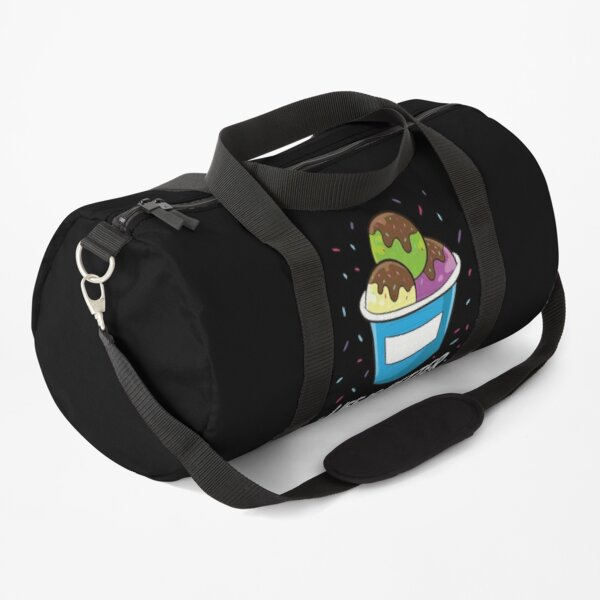 Ice Cream Life Is Better With Sprinkles Ice Cream Duffle Bag