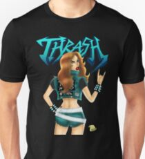 Thrash Metal Chick  T-Shirt