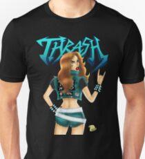 Thrash Metal Chick  Unisex T-Shirt