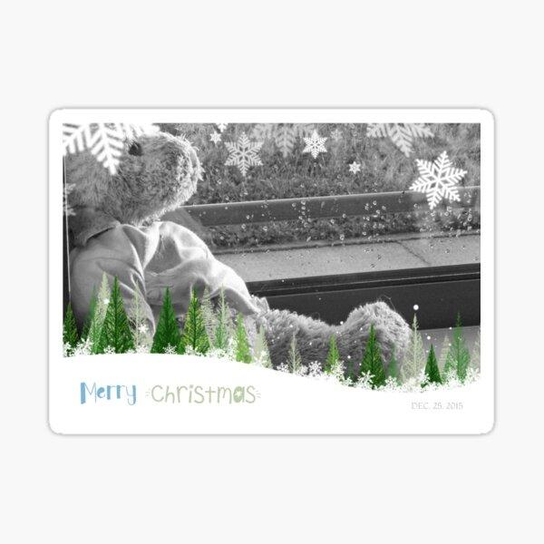 Happy Christmas from JoJo Bear Sticker