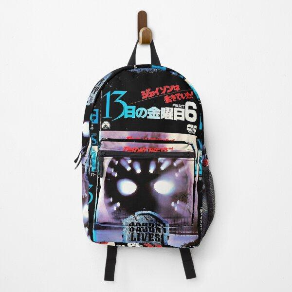 Horror Jason 13 Backpack