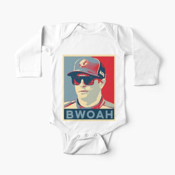 Kimi Raikkonen - ¡BWOAH! Body de manga larga para bebé