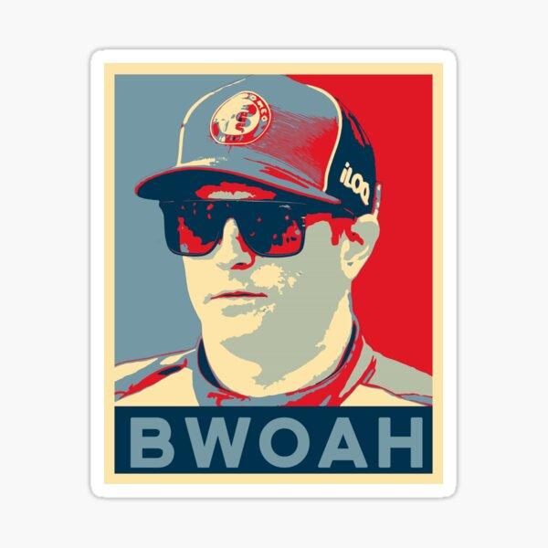 Kimi Raikkonen - BWOAH! Sticker