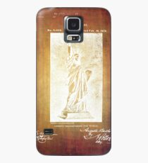 Statue If Liberty Original Patent By Bartholdi 1879 Case/Skin for Samsung Galaxy