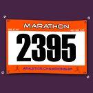 Marathon Runner by Stuart Stolzenberg