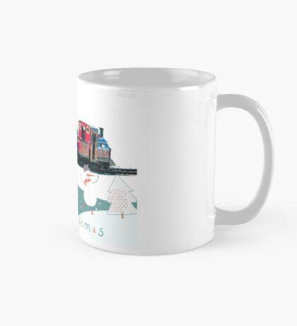 Happy Christmas for train lovers  Mug