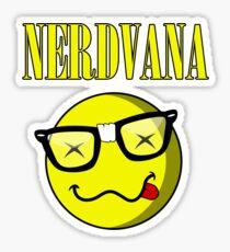 NERDVANA Sticker