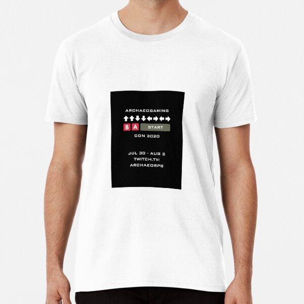 Affiche du code konami ArGaCon T-shirt premium