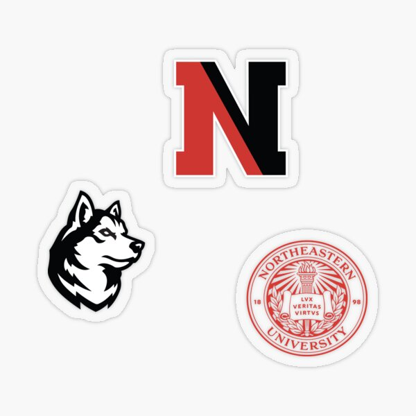 Northeastern Basics Transparent Sticker
